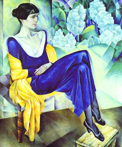 Collection of poems by Anna Akhmatova, in French