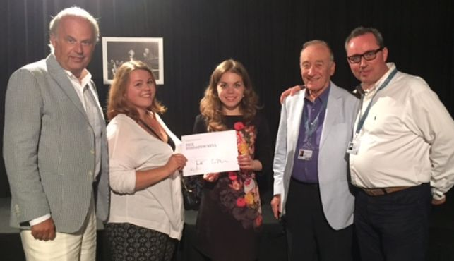 Winners of the 2015 Neva Foundation Prize at Verbier Festival