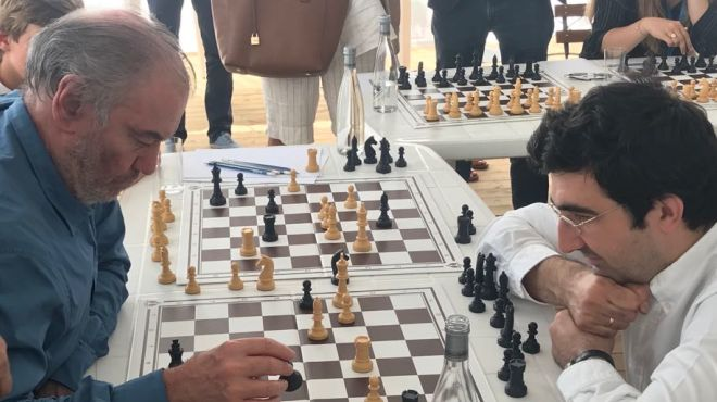 Chess by Neva Foundation at Verbier Festival